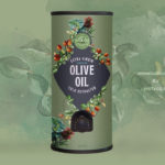 OliveOil Hand Painted Wow Creative Design Studio