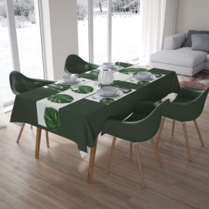 Disposable Table Runner and Place Mats by Pritty Garden Route