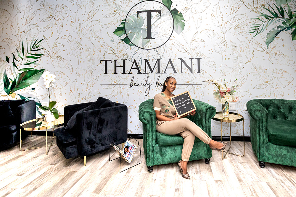 WOW Creative Design Studio Branding and Design Project for Thamani Beauty Bar by Pritty